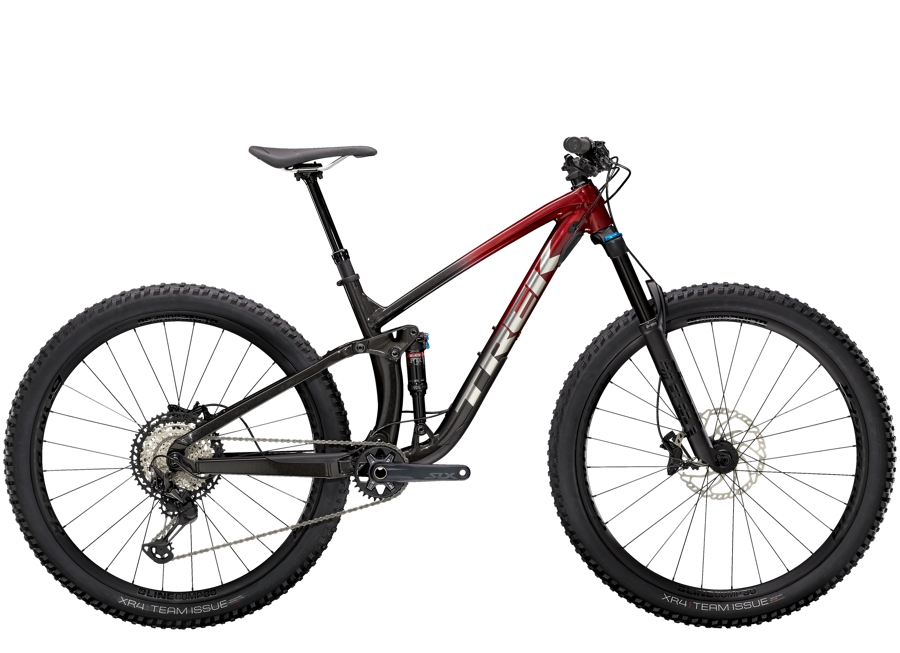 Trek Fuel EX 8 XT S (29  wheel) Rage Red to Dnister Black Fade