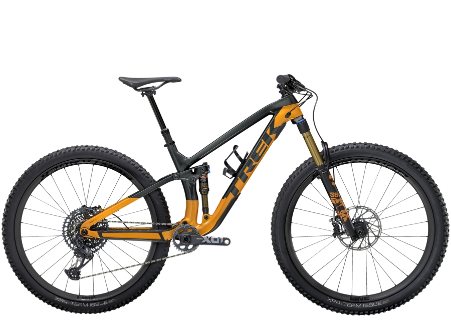 Trek Fuel EX 9.9 XO1 S (29  wheel) Lithium Grey/Factory Orange