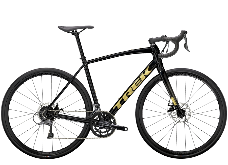 Trek Domane AL 2 Disc 49 Trek Black/Carbon Smoke